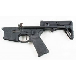Black Rain AR15 Complete Lower w/ Maxim CQB Stock