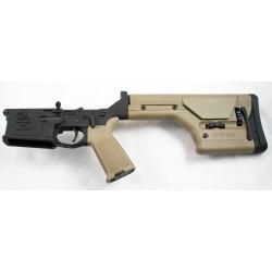 Armalite AR10 Lower Complete w/ PRS Stock FDE
