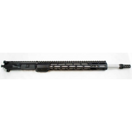 "Mega Arms / Odin Works 18"" 6.5 Grendel Billet AR15 Upper M-LOK w/ adj. gas block"