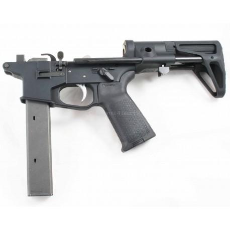 Quarter Circle 10 9mm Complete AR15 Lower w/ Maxim CQB - Colt Pattern