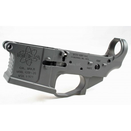 Mega Arms Billet AR15 Ambi Lower GTR-3S Gator M0514-HA