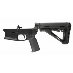 SMOS GFY-15 Complete Billet AR15 Lower w/ CTR Stock, Geissele SSA