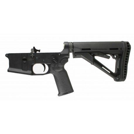 SMOS GFY-15 Complete Billet AR15 Lower w/ CTR Stock, Geissele SSA