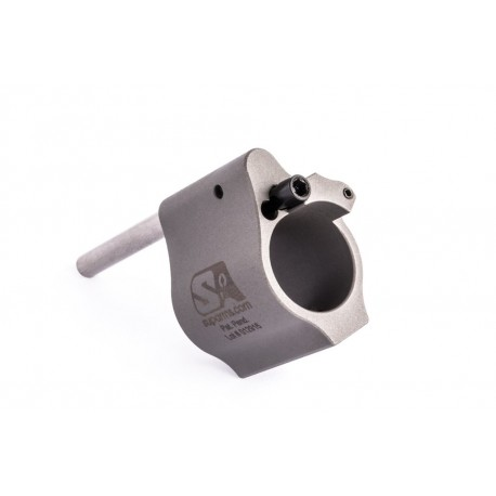Superlative Arms .625 Adjustable Gas Block Bleed Off Solid Stainless