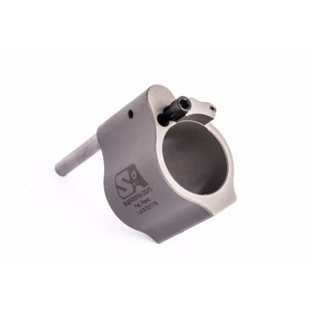 Superlative Arms .750 Adjustable Gas Block Bleed Off Solid Stainless SABO-DI-750SS