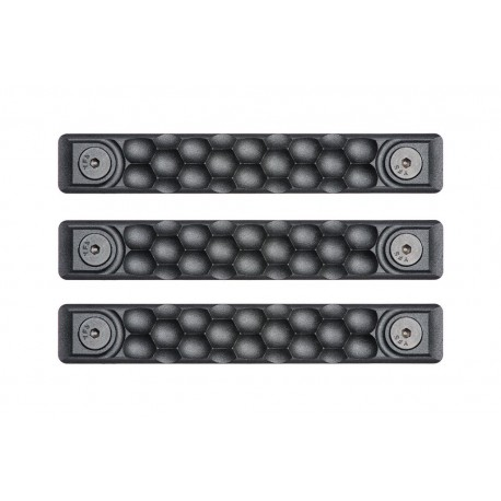 Railscales HTP Scales Honeycomb Black M-LOK (3 pack)