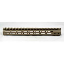 """SMOS AR15 15"""" GFY M-LOK Rail - FDE"""