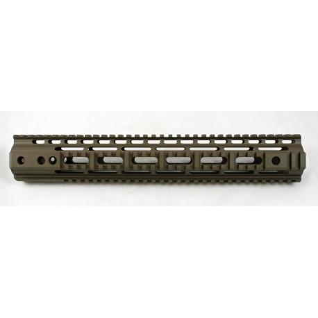 """SMOS AR15 SMR 13.6"""" Quad Rail - Patriot Brown"""