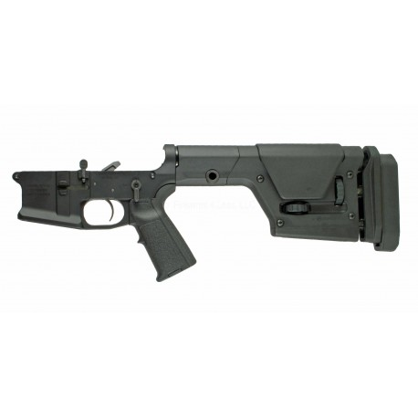 SMOS GFY-15 Complete Billet AR15 Lower w/ PRS Stock