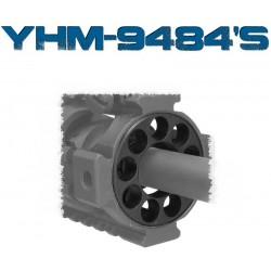 YHM Rail / Forearm End Cap - Heavy Barrel