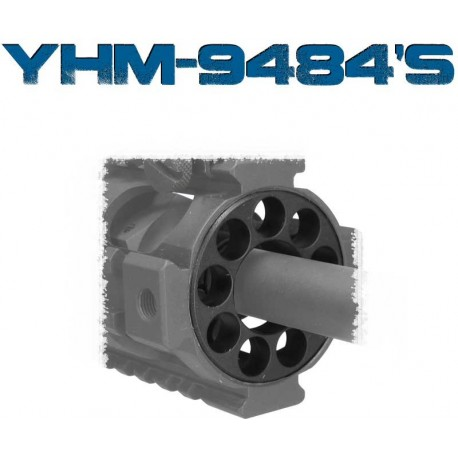 YHM Rail / Forearm End Cap - Heavy Barrel 9484B