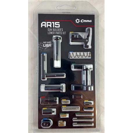 CMMG AR15 LPK / Lower Parts Kit Minus Trigger & Grip