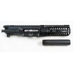 """CMMG 4.5"""" Dedicated 22LR AR15 SBR / Pistol Upper w/ Odin 5.5"""" M-Lok Rail"""