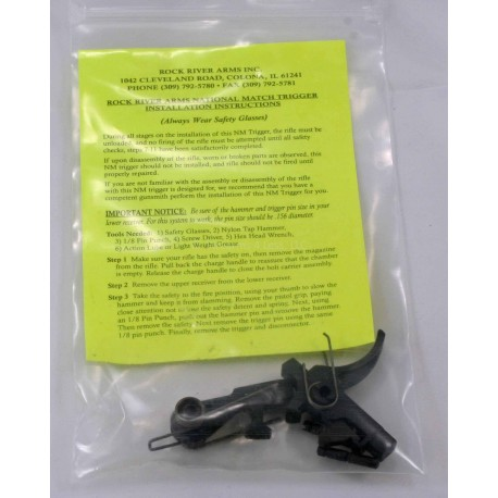 National Match 2 Stage AR15 Trigger