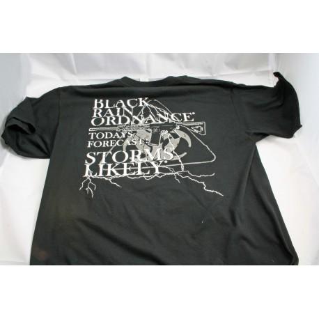 Black Rain Ordnance Storms Likely T-Shirt