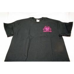 Black Rain Ordnance Logo T-Shirt Black w/ Pink Logo