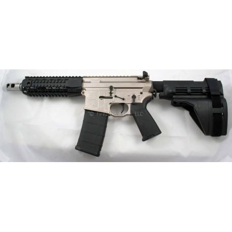 "Black Rain 7.5"" 5.56 AR15 Pistol NorGuard Finish with Sig Sauer SB15 Pistol Stabilizing Brace PSB"