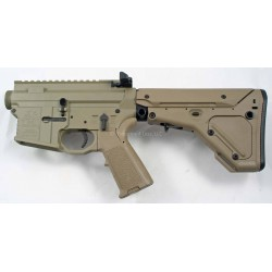 Black Rain FALLOUT15 AR15 Complete Billet Lower UBR - FDE